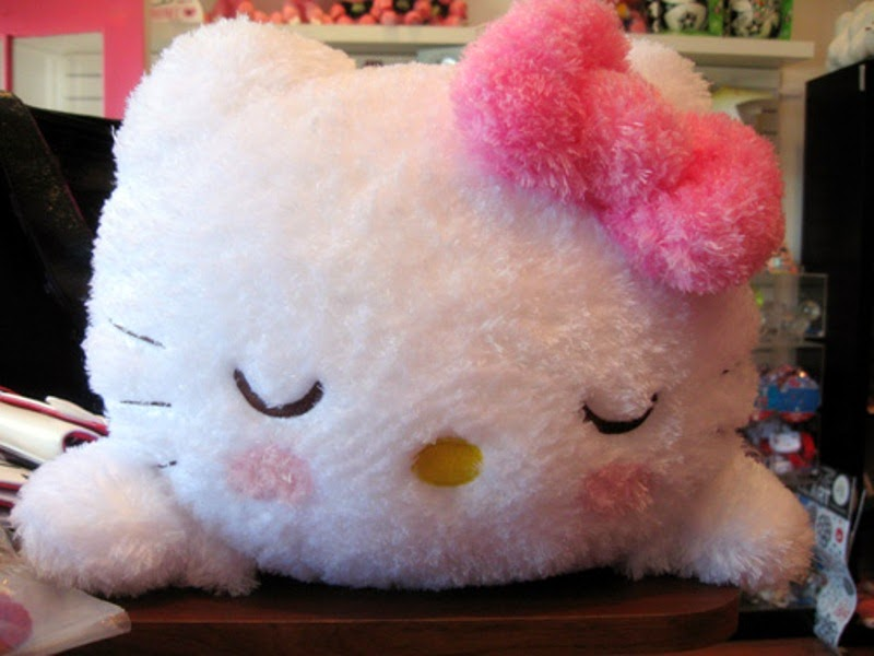 Gratis download gambar hello kitty tidur