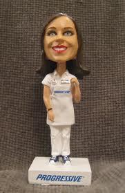 Flo Progressive Bobblehead Doll