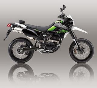Kawasaki D-Tracker X 250 Hijau