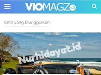 Template Blogger Viomagz V.3.1 Premium