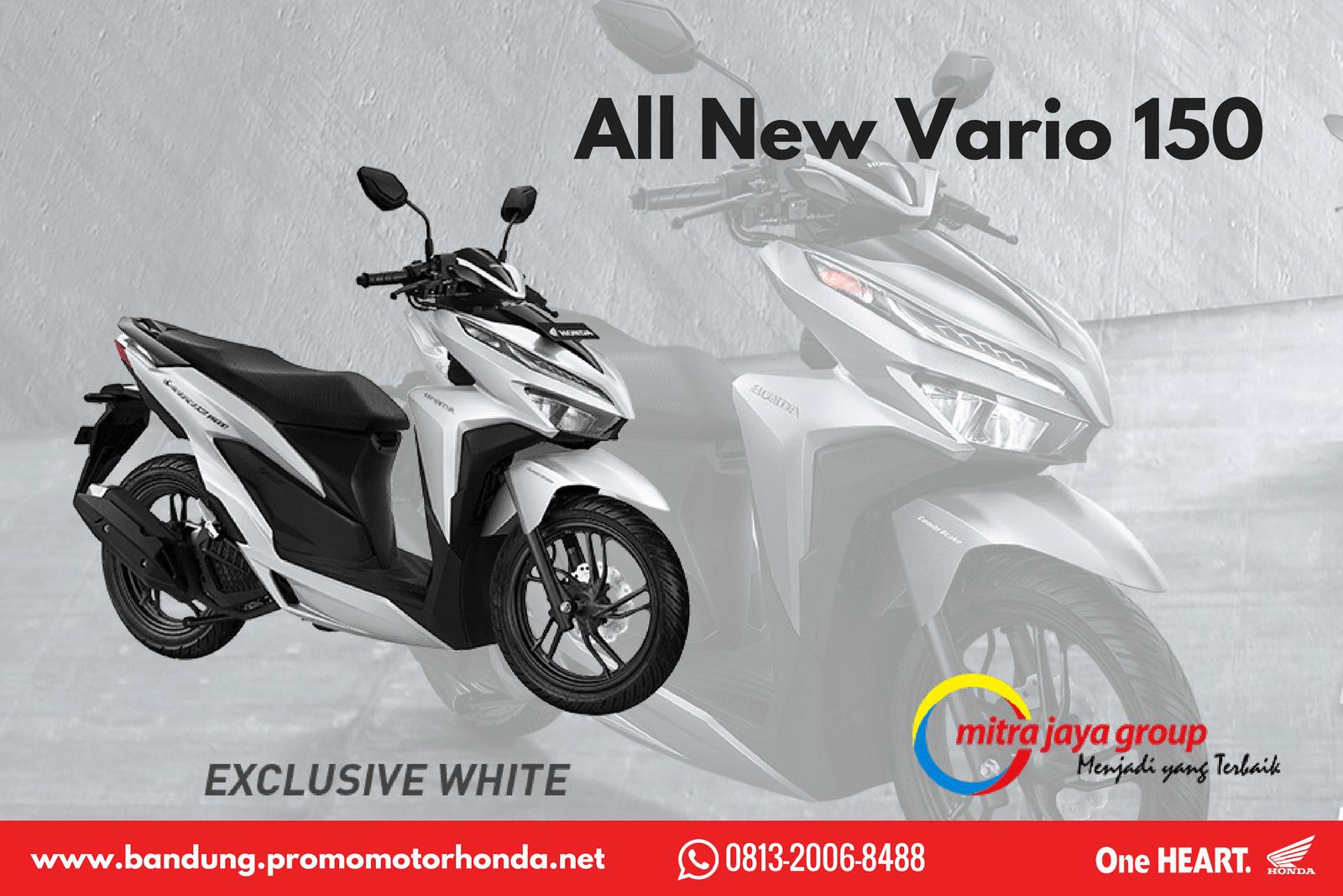 Daftar Harga Motor Honda 2018 Bandung New Vario 125 Esp Cbs Iss Bionic Red Klaten All 150 Tahun Kredit