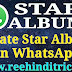 WhatsApp Me Star Album Kaise Banaye