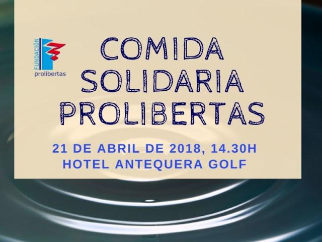 Comida Solidaria Prolibertas en Antequera