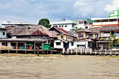 Flussfahrt in Bangkok