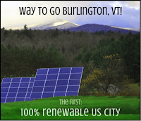 renewable energy Burlington USA