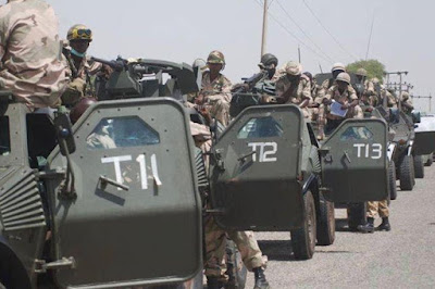 boko haram attack military base bama