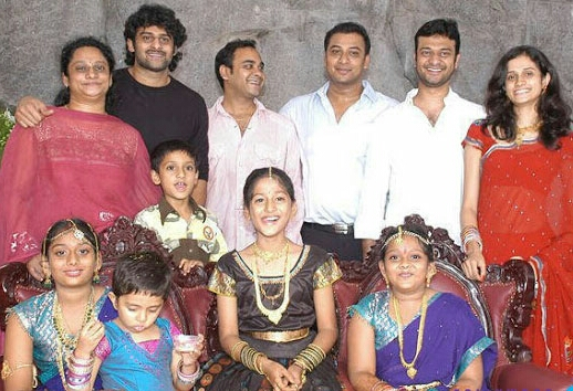 Prabhas Family Photo