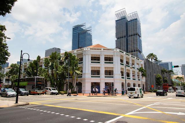 Raffles hotel-Singapore