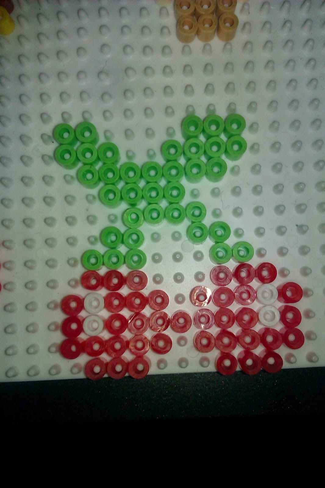 Pixel Art En Perle Hama Nourriture En Perle à Repasser