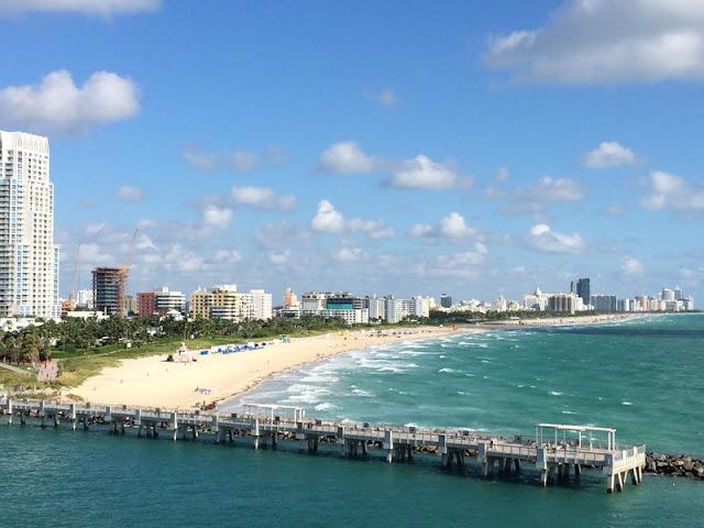 A Landscape of Beautiful Miami Beach