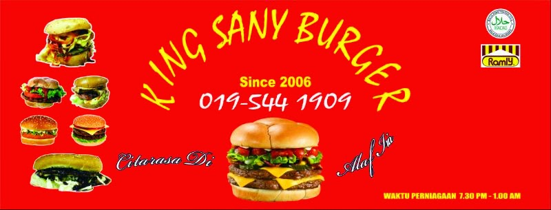 Giveaway King Sany Burger
