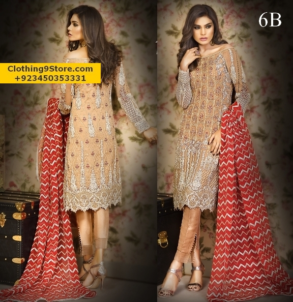 Asim Jofa Mysorie Chiffon Collection 2017