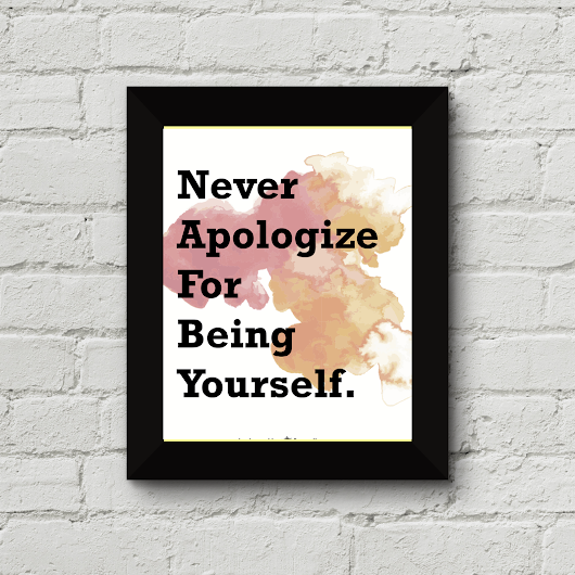 On Apologizing