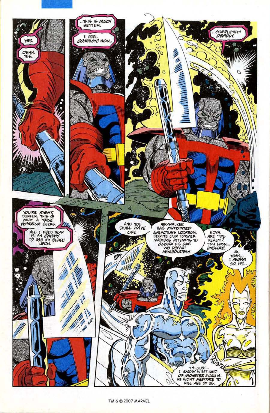 Read online Silver Surfer (1987) comic -  Issue #74 - 30