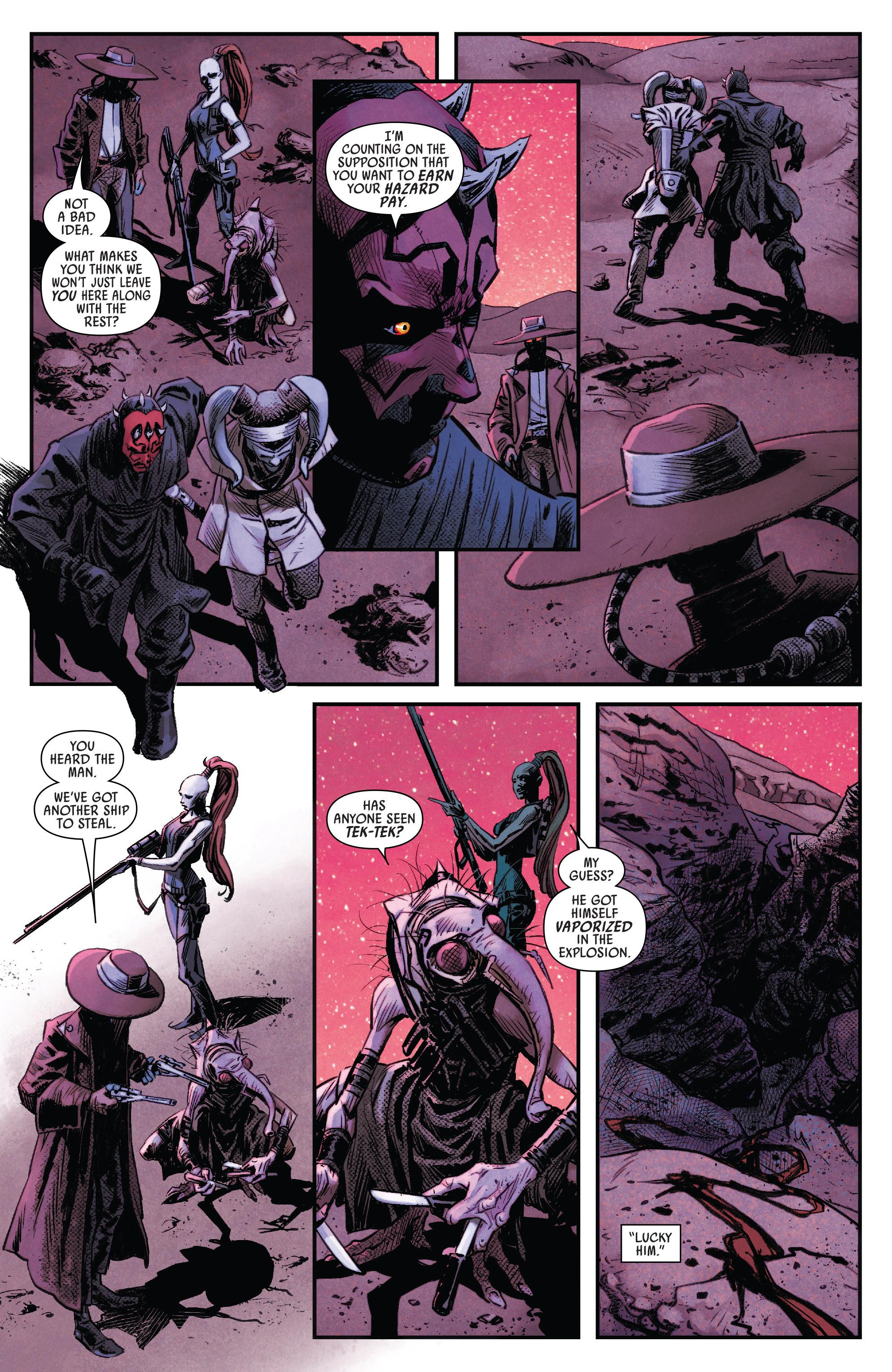 Read online Darth Maul comic -  Issue #4 - 7