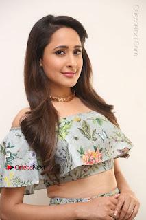 Actress Pragya Jaiswal Stills in Floral Dress at turodu Interview  0032.JPG