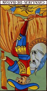 Le Cavalier de Bâton à l'Envers