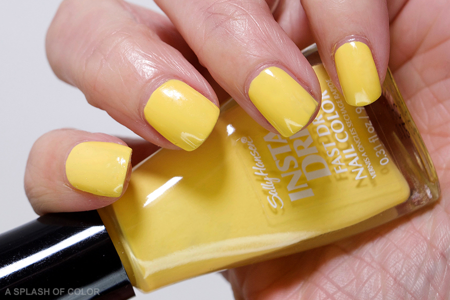 Sally Hansen Expreso-so Yellow