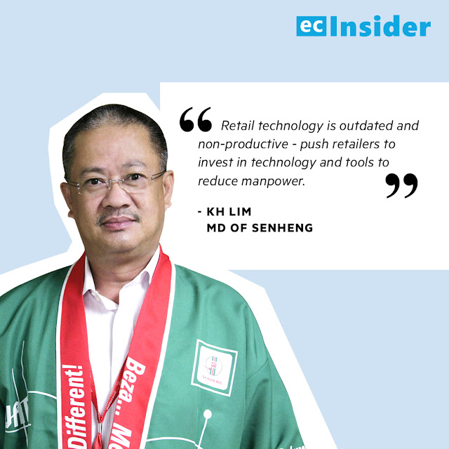 KH Lim, MD of Senheng