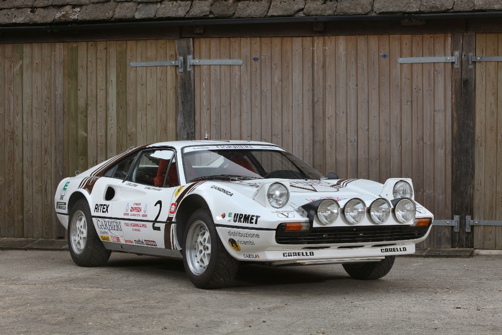 1984 Ferrari 308 Gtb Michelotto Group B Rally Car For Sale In Uk