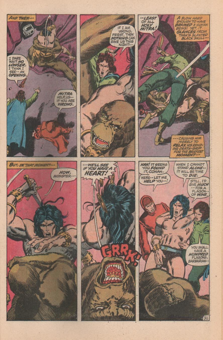 Conan the Barbarian (1970) Issue #11 #23 - English 45