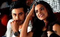 Deepika Padukone dengan Ranbir Kapoor