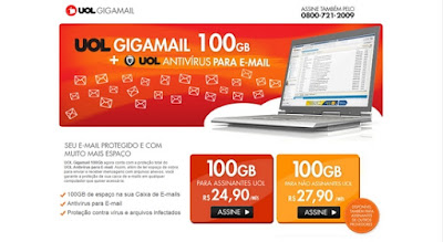 Como fazer e-mail da UOL