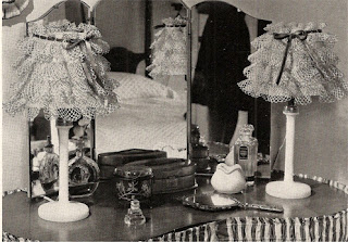 Free Ruffled Crochet Lampshade Pattern