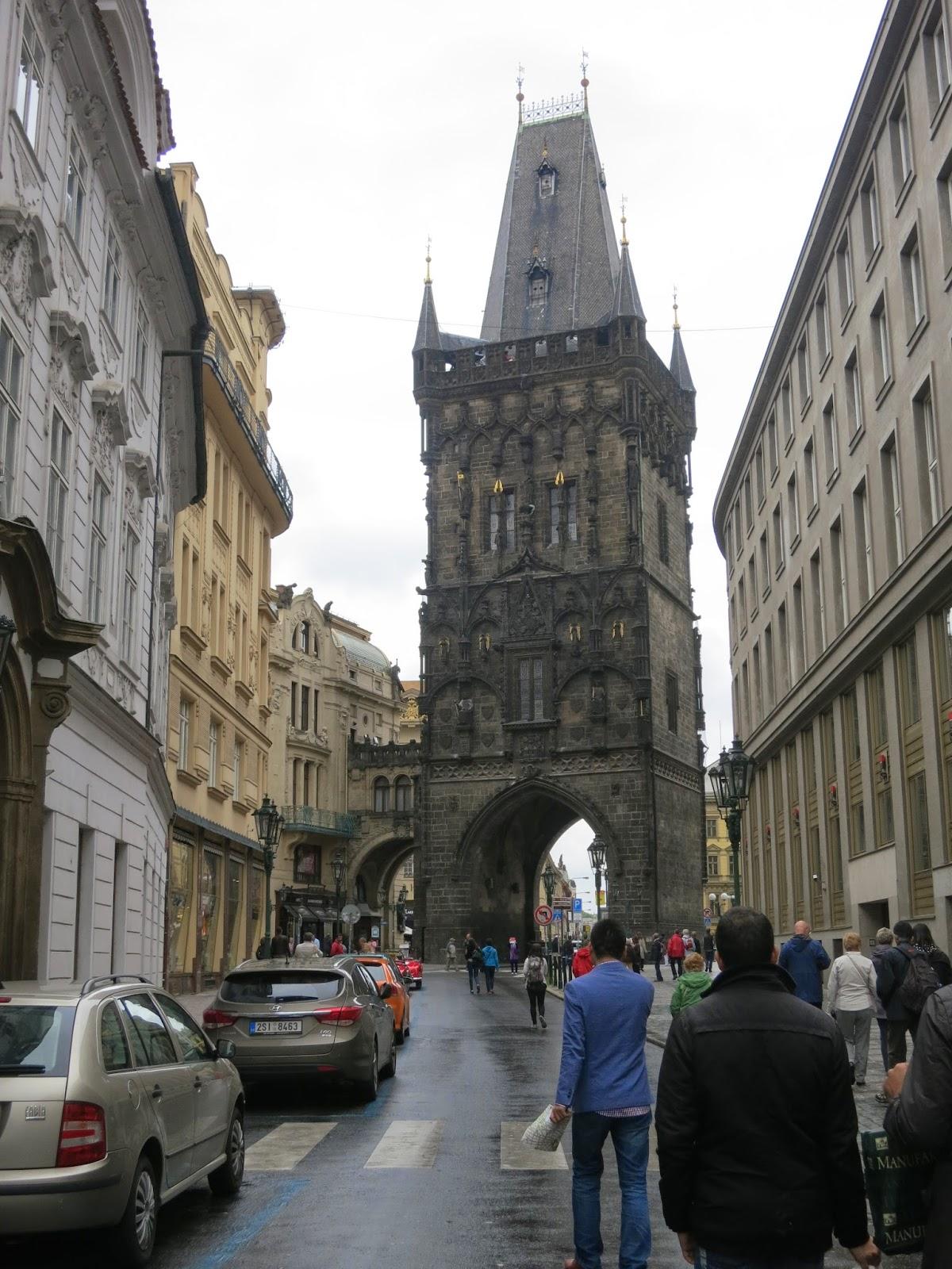 Viikonloppu Prahassa