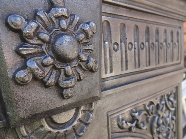 Victorian Fireplace Detail