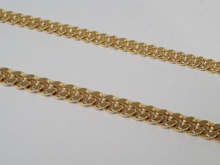 K18イエローゴールド製ネックレス キヘイ(喜平)ネックレスを買取ました