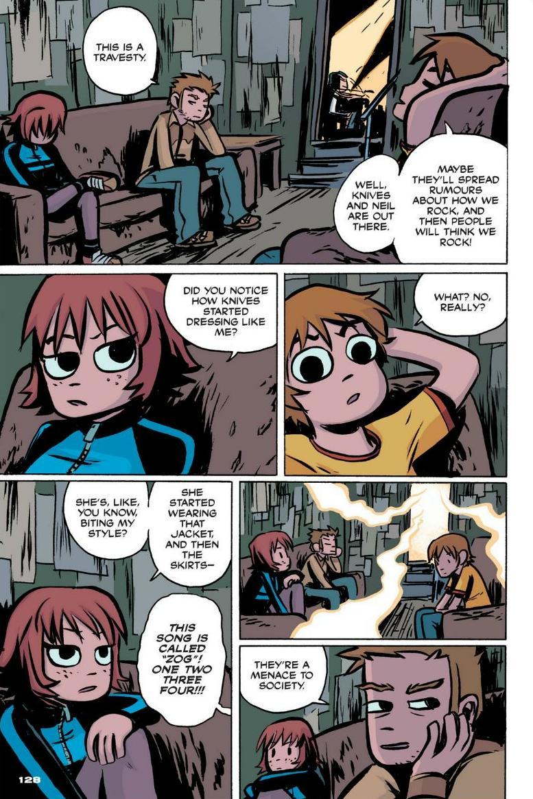 Read online Scott Pilgrim comic -  Issue #1 - 117