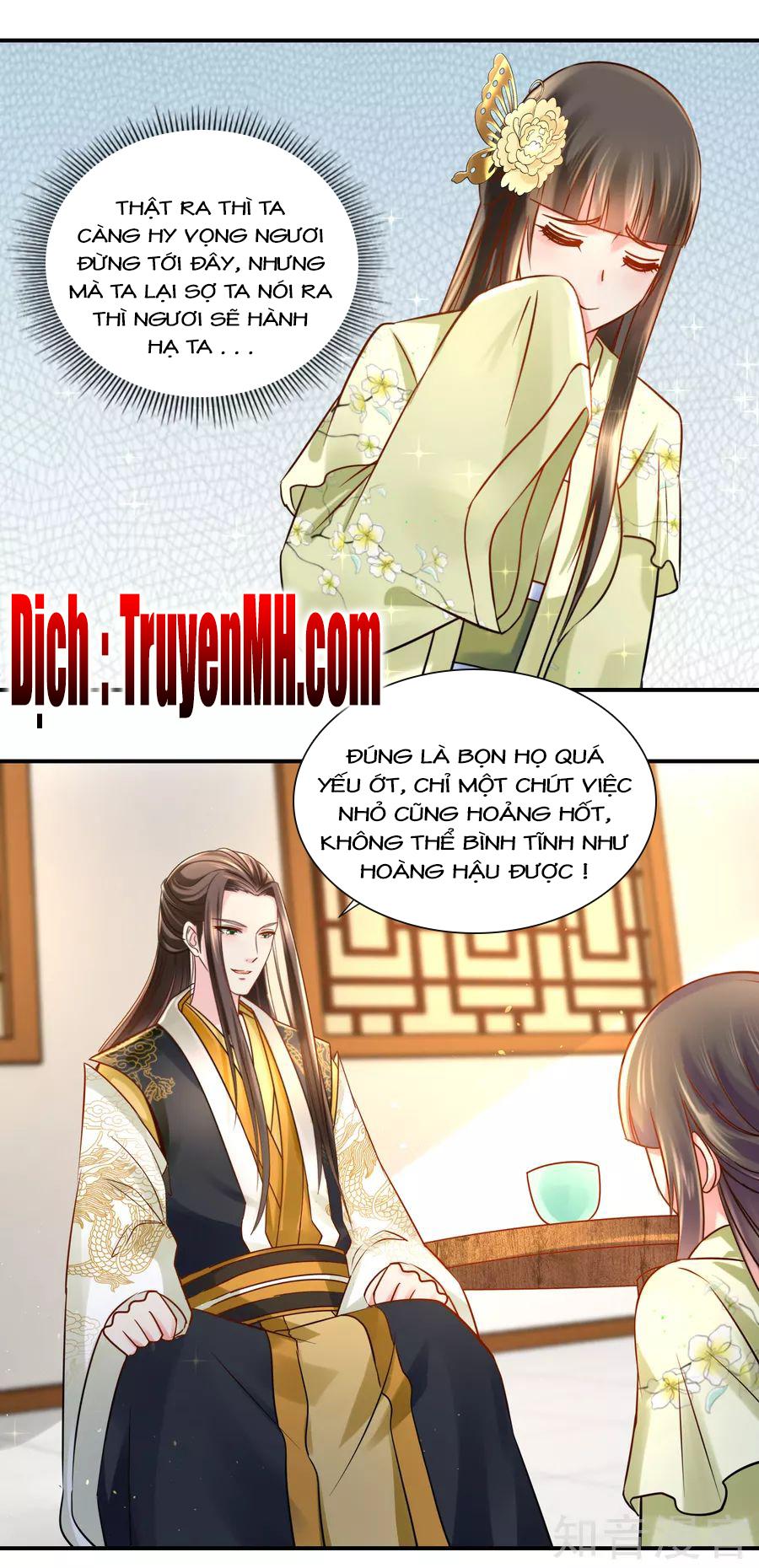 Lãnh Cung Phế Hậu Muốn Nghịch Thiên - Chap 43
