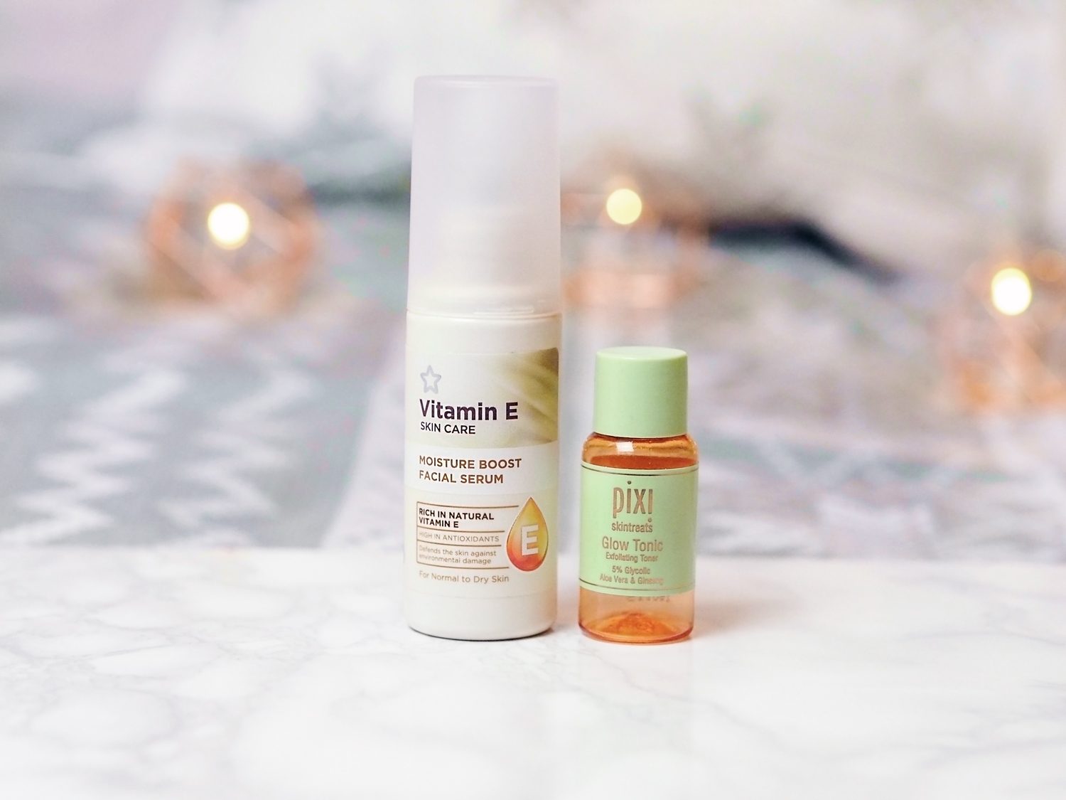 november favourites superdrug vitamin e pixi glow tonic
