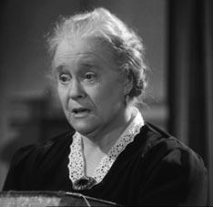 Mary Gordon as Mrs Hudson