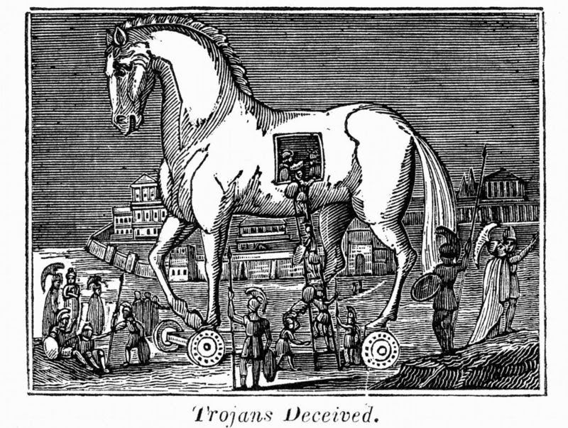 Profile of the Greek Hero Achilles of the Trojan War