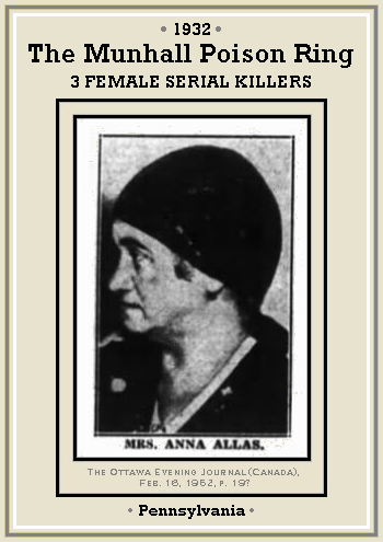 1932 U2013 Anna Allas U2013 Munhall, Pennsylvania, USA
