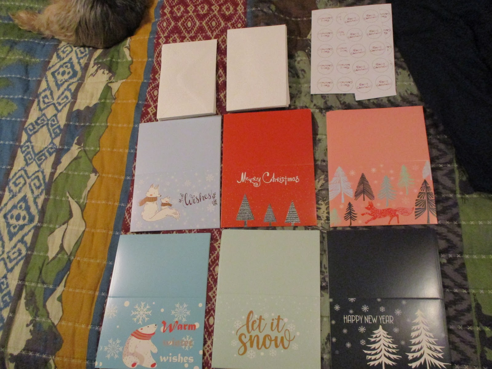 Missys Product Reviews : Box of 30 Assorted Merry Christmas Cards