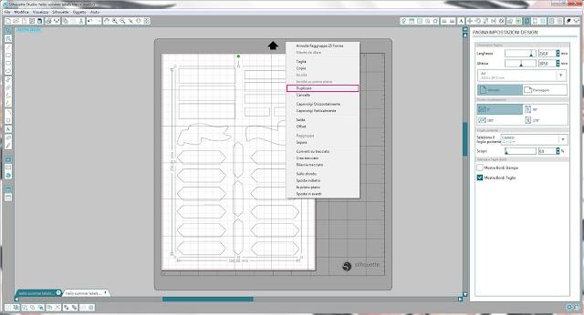 Come utilizzare i file dxf nella modalità Print & Cut | Silhouette Cameo 5