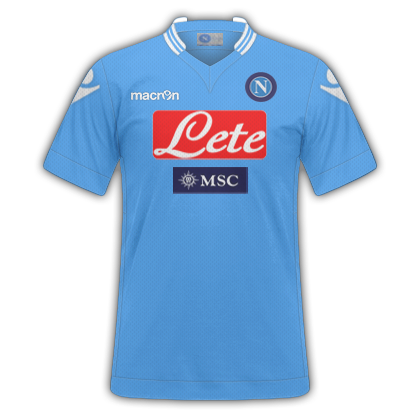 GT Camisas  Camisas Napoli 2013   2014 - Home 87937015a6216