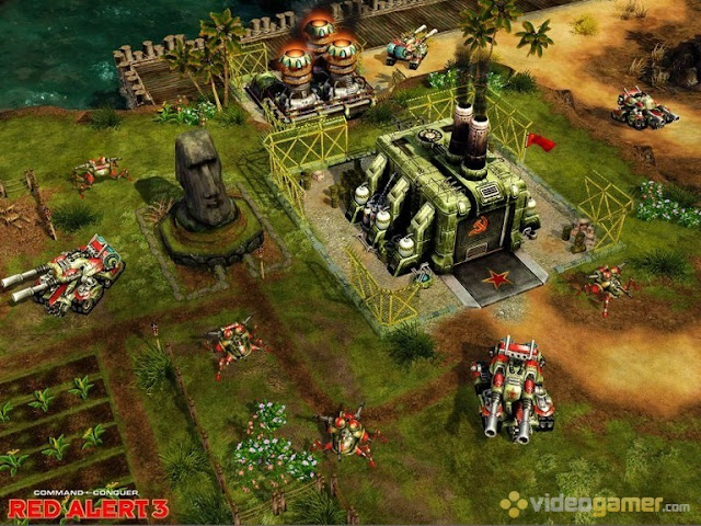 Command and Conquer Red Alert 3 PC Free Download Screenshot 1