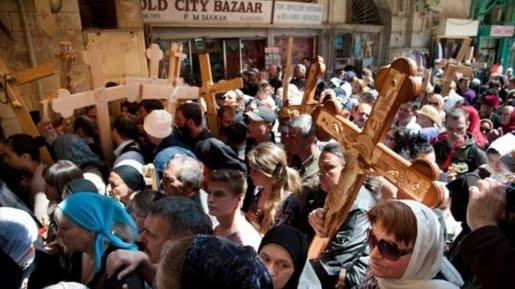 Sedihnya Perayaan Paskah Kristen Gaza Tahun Ini, Tidak Boleh Masuk Ke Yerusalem