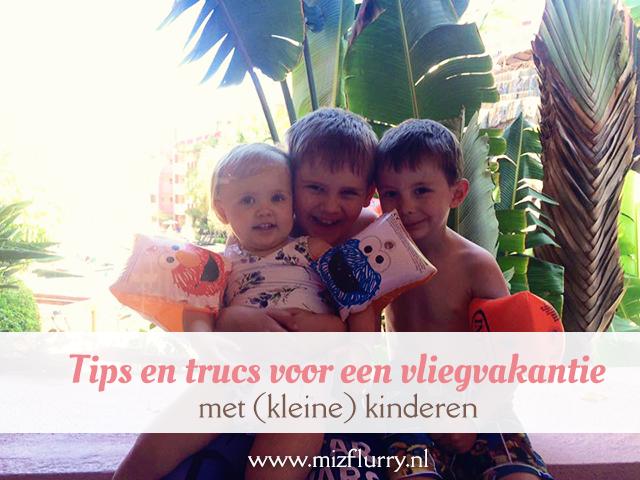 tips trucs vliegvakantie kinderen