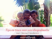 Tips en trucs voor een vliegvakantie met (kleine) kinderen