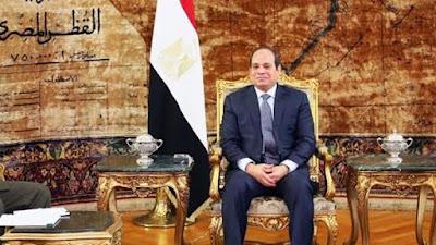 رئيس الجمهورية عبد الفتاح السيسى