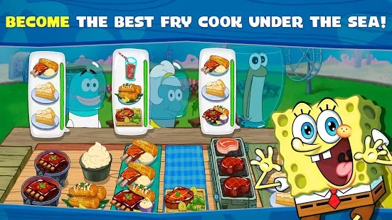 SpongeBob: Krusty Cook-Off Apk Mod Free on Android Game Download