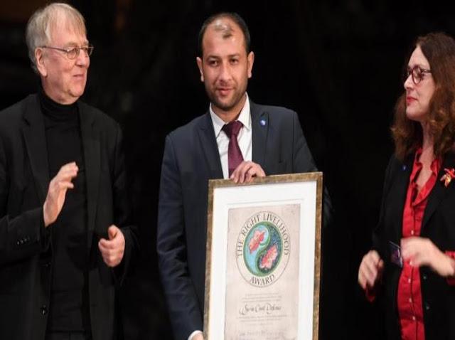 """""""الخوذالبيضاء"""" السورية تحصد جائزة نوبل البديلة"""