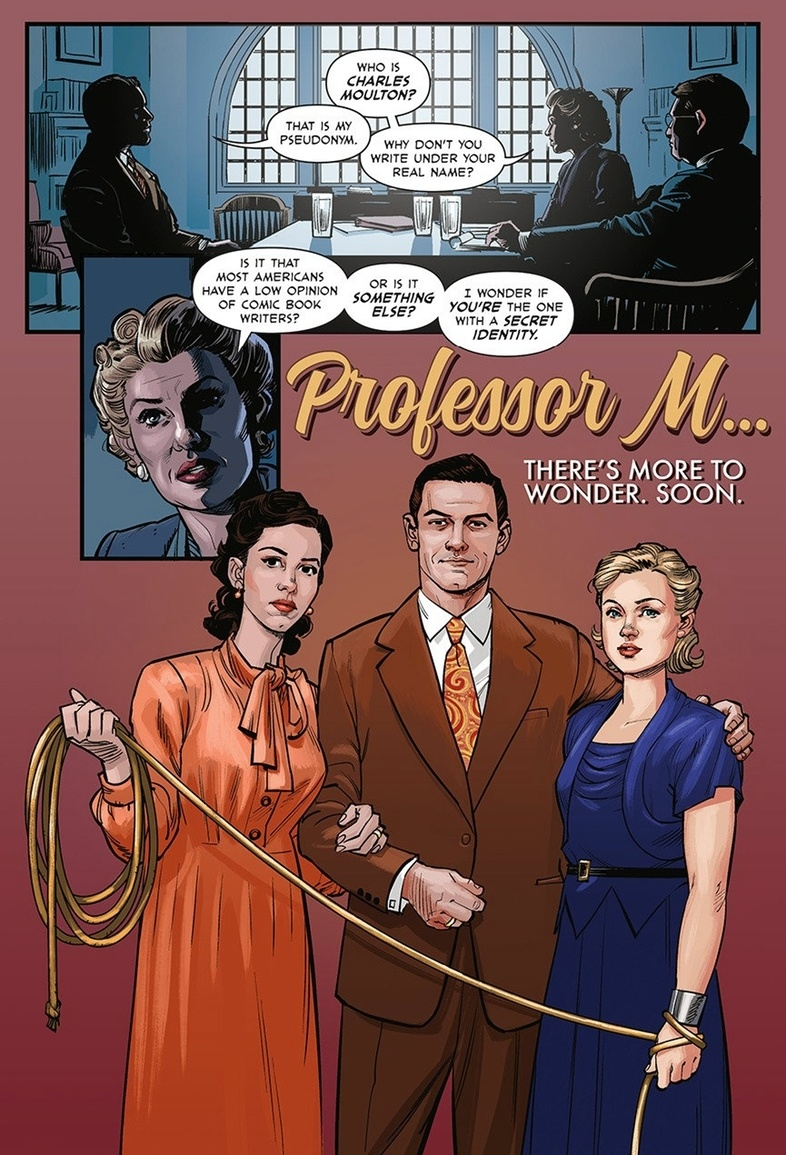 Female professor swinging stories