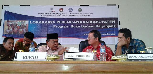 13 Kabupaten/Kota Sulsel Luncurkan Program Buku Bacaan Berjenjang