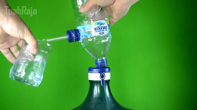 Cara Membuat Pompa Galon Dari Botol Bekas Kreatif Cara Membuat